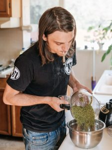 Cannabis Artist Tony Greenhand
