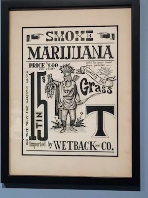 Rolly Crump's Marijuana Poster