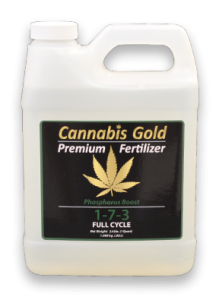 Cannabis Gold Premium Fertilizer offers an array of nutrients for any grow.