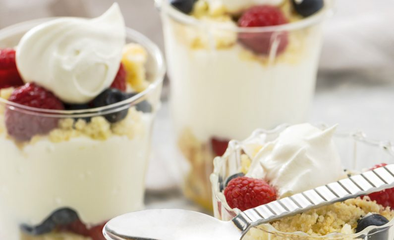 How to Make a Cannabis-Infused Trifle with Berries