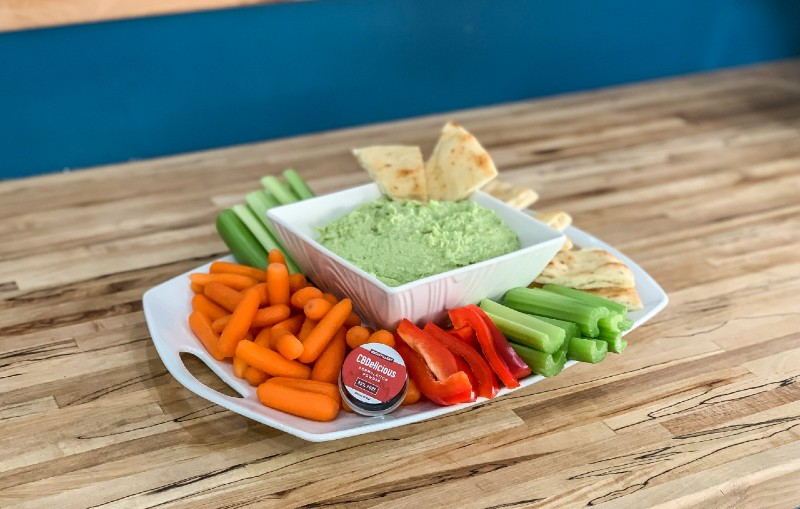 Super Bowl Snack Attack? Try This Game Day Edamame CBD Dip