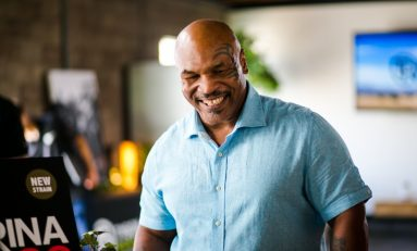 Mike Tyson to Print Drinkable Cannabis