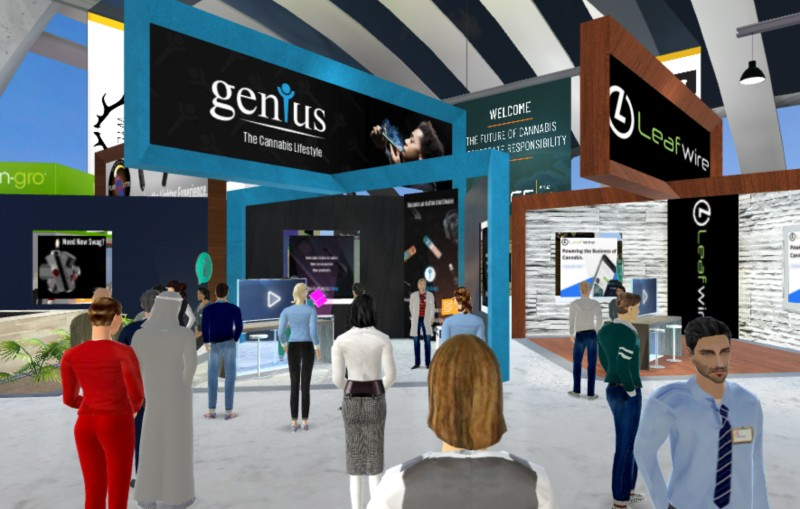 Day One of the Cannabis Industry's First Virtual Reality Event