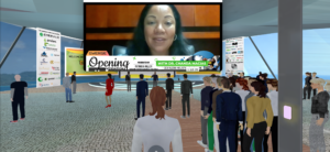 Dr. Chanda Macias during her opening session speech at the Spring Emerge 2021 Virtual Cannabis Conference.