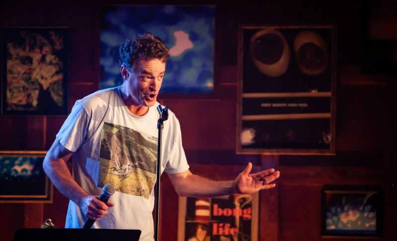 Comedian Matt Besser Doesn't Like Smelling Cannabis